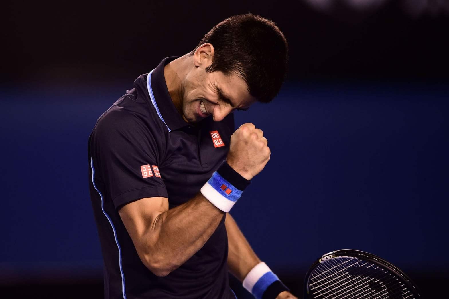 Djokovic continúa   sólido y firme en Melbourne.