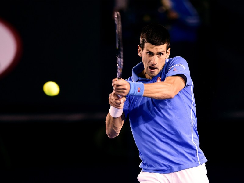 Djokovic impuso su jerarquía ante Raonic.
