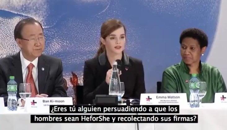 Emma Watson y su impresionante discurso por la igualdad de género [VIDEO]