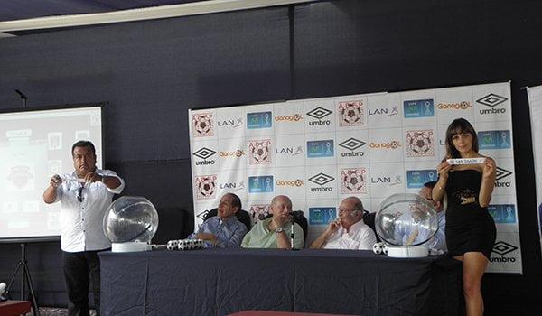 Se sortearon los grupos y el calendario de la Copa Inca 2015.