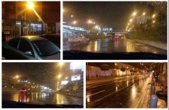 Intensa lluvia de verano cae sobre Lima esta madrugada [VIDEO]