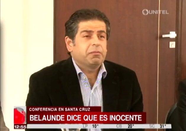 """Martín Belaunde habla: """"Juicio en Perú es montaje político"""" [VIDEO]"""