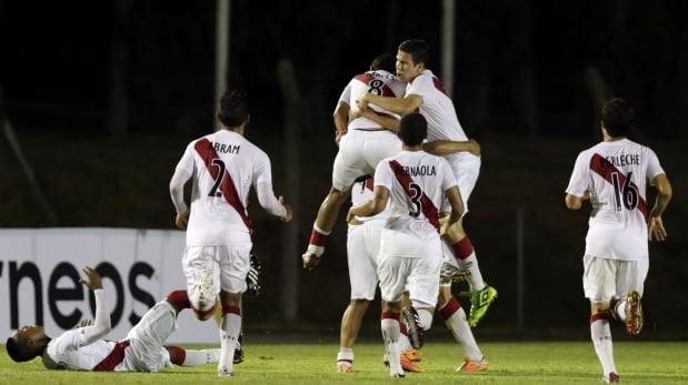 Perú debutó celebrando ante Ecuador en el Sudamericano Sub 20.
