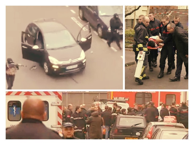 EN VIVO / Terroristas matan a 12 personas en oficinas revista francesa