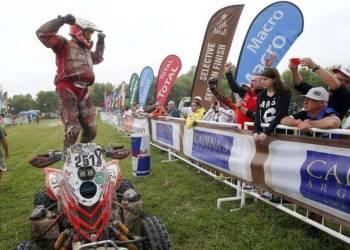 Rafal Sonik ganó por primera vez en el Dakar.