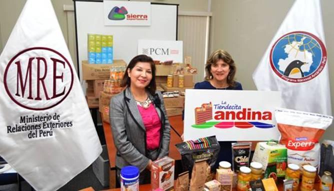 """Productos de la """"Tiendecita Andina"""" fueron enviados a la Antártida."""