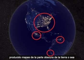 La Tierra desde el Espacio en Navidad y Año Nuevo
