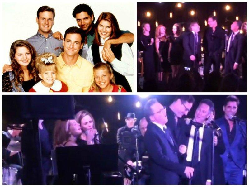"""Tres por Tres"": Elenco de recordada serie de TV se reunió y cantó"
