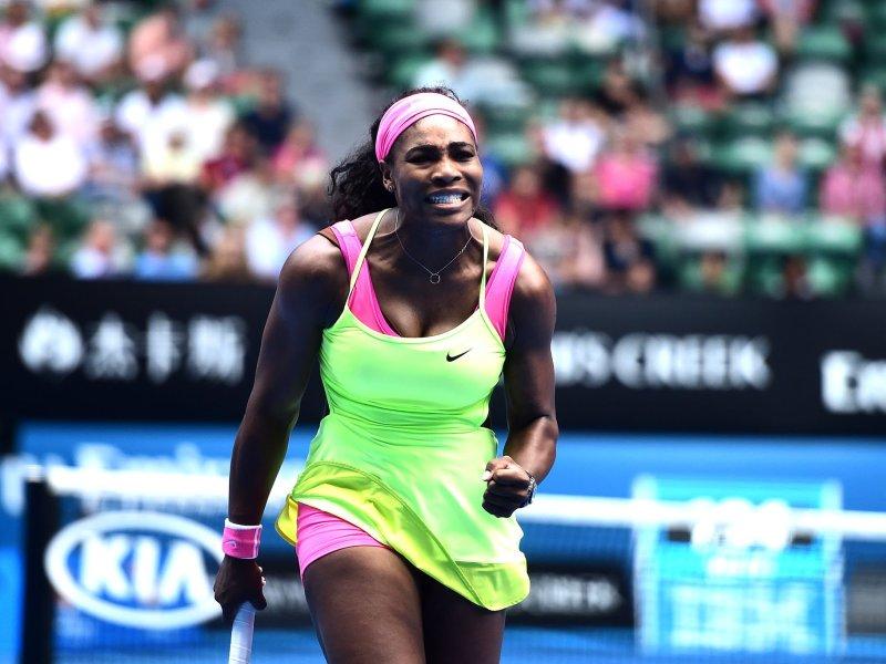 Serena Williams sigue imponiendo su favoritismo en Australia.