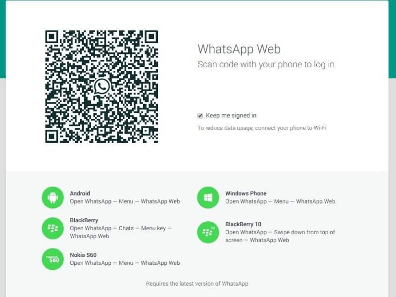 WhatsApp Web: Ahora puedes 'wasapear' desde el navegador