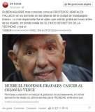 Rubén Aguirre: Matan en Facebook al profesor Jirafales por virus