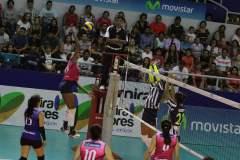 Géminis es el nuevo líder del octogonal de la Liga de Voleibol.