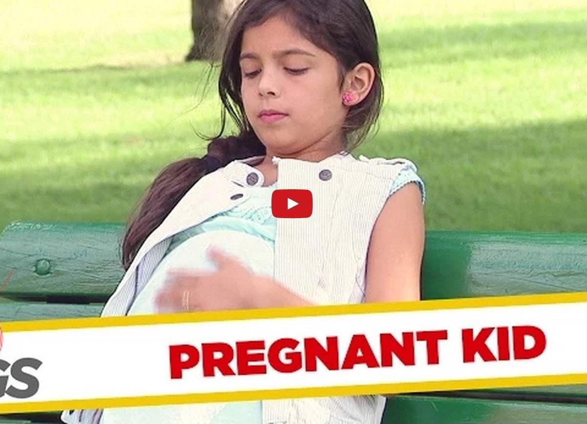 YouTube: Niña embarazada, una hilarante broma en Canadá [VIDEO]