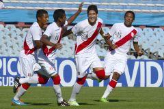 La bicolor celebró en su último encuentro del Campeonato Sub 20.