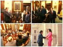 Espionaje chileno: Ollanta Humala se reúne con líderes políticos [FOTOS]