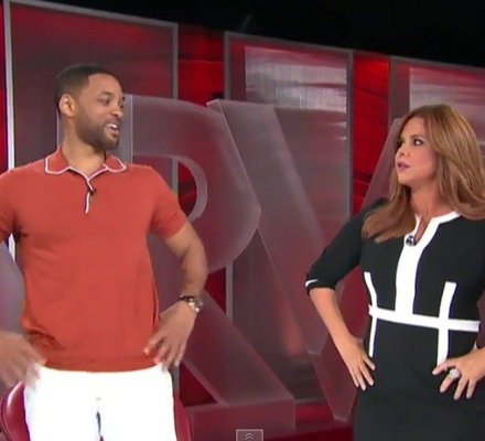 [VIDEO] De impacto: Will Smith habla en español con Telemundo