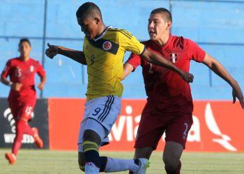 Los colombianos lograron su primer triunfo en el torneo ante Perú.