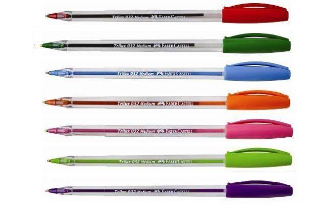 Los bolígrafos fueron exportados por 147 empresas y llegaron a 57 destinos  extranjeros según Adex.