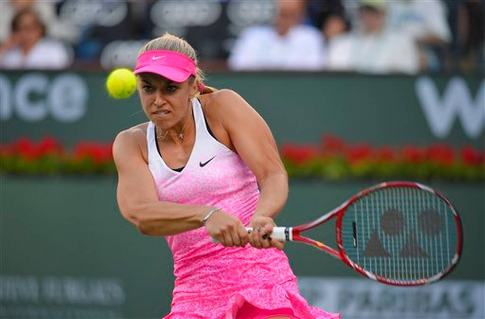 Sabine Lisicki eliminó a la última campeona de Indian Wells.