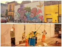 Municipalidad de Lima ya borró 15 murales del Centro Histórico