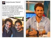 """Rodrigo Gonzalez """"Peluchín"""" presenta a su pareja y pide unión civil"""