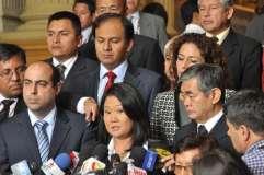 Congresistas del partido de Keiko Fujimori limpiados por comisión de Ética