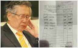 Alberto Fujimori: Denuncian gran compra de pescado para expresidente