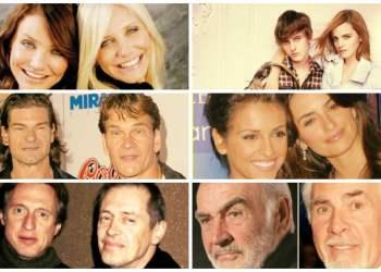 Increíble: 14 celebridades y sus hermanos con asombroso parecido [FOTOS]