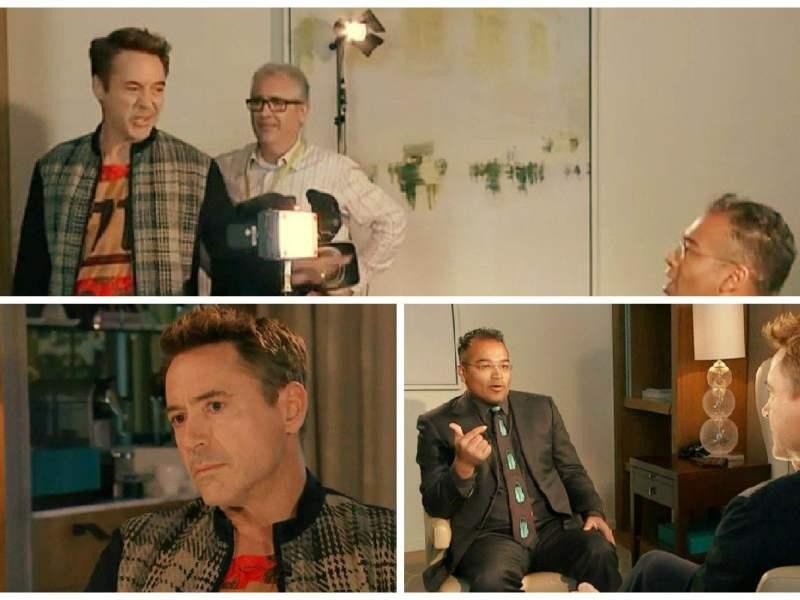 Iron Man: Robert Downey Jr. abandona furioso entrevista de TV