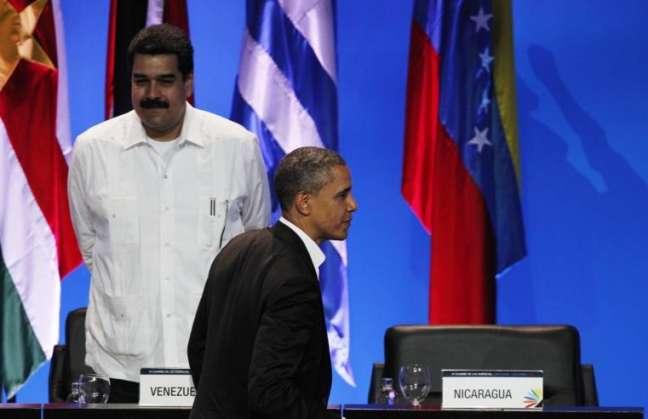 Nicolás Maduro y Barack Obama también se reunieron en Panamá