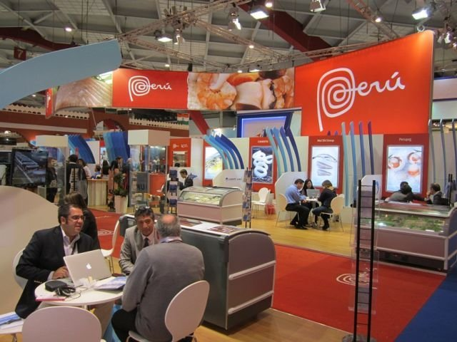 La participación nacional en la Feria Seafood Global de Bélgica superó las expectativas proyectadas.