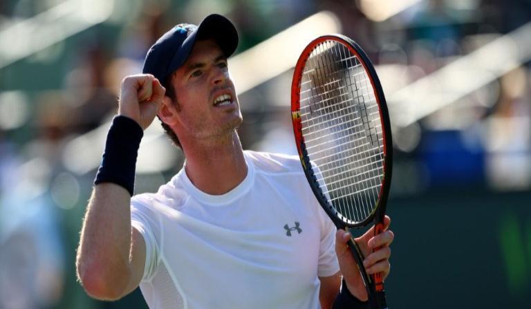 Andy Murray impuso su jerarquía para avanzar a semifinales de Miami.