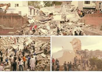 Terremoto en Nepal deja casi 900 muertos