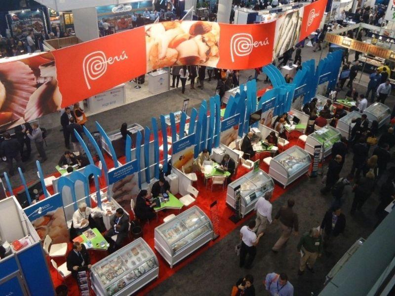 Catorce exportadoras nacionales participaron con éxito en la Feria Boston Seafood Show