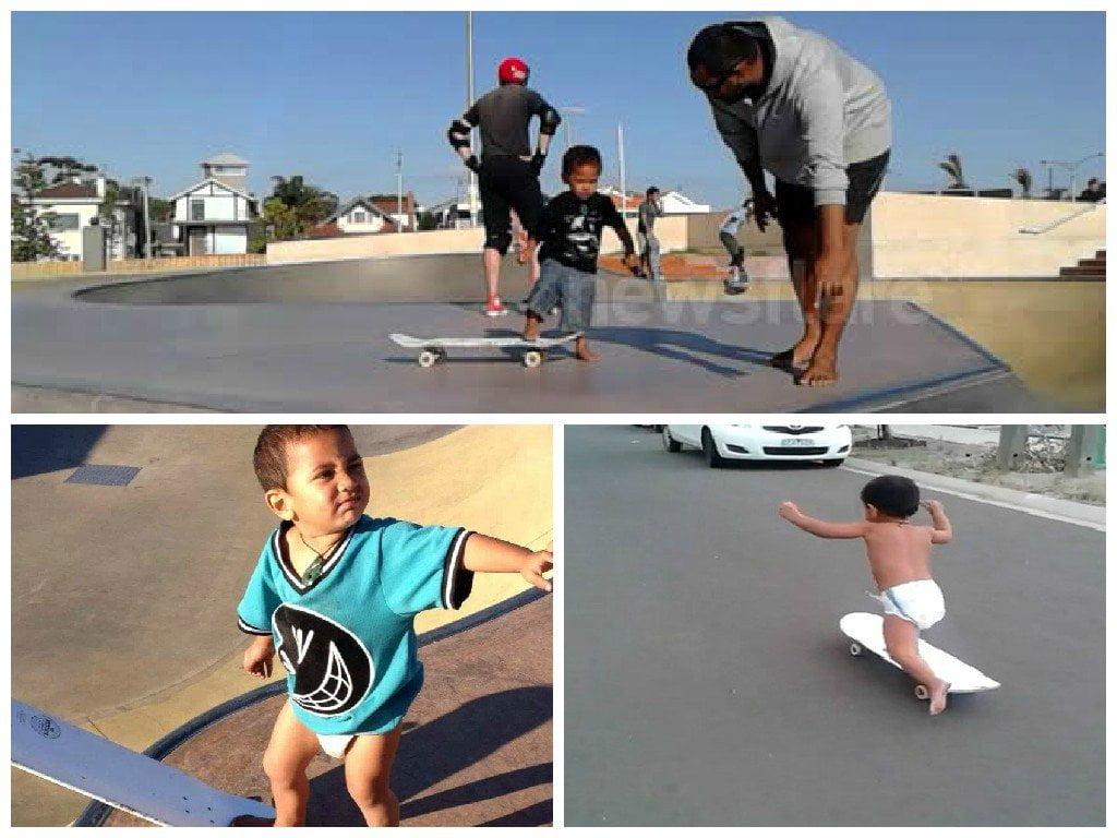 Skater bebé