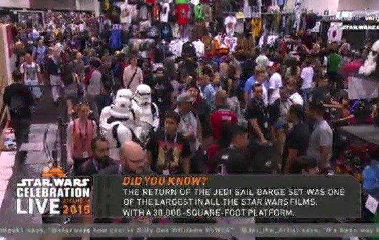 En Vivo: Star Wars Celebration 2015, fanáticos se reúnen