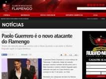 Flamengo hizo oficial la contratación de Paolo Guerrero.