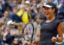 Luego de 7 años, Ana Ivanovic avanzó a  los cuartos de final del Roland Garros.