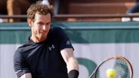 Murray impuso su jerarquía y calidad tenística en su primer encuentro del Roland Garros.