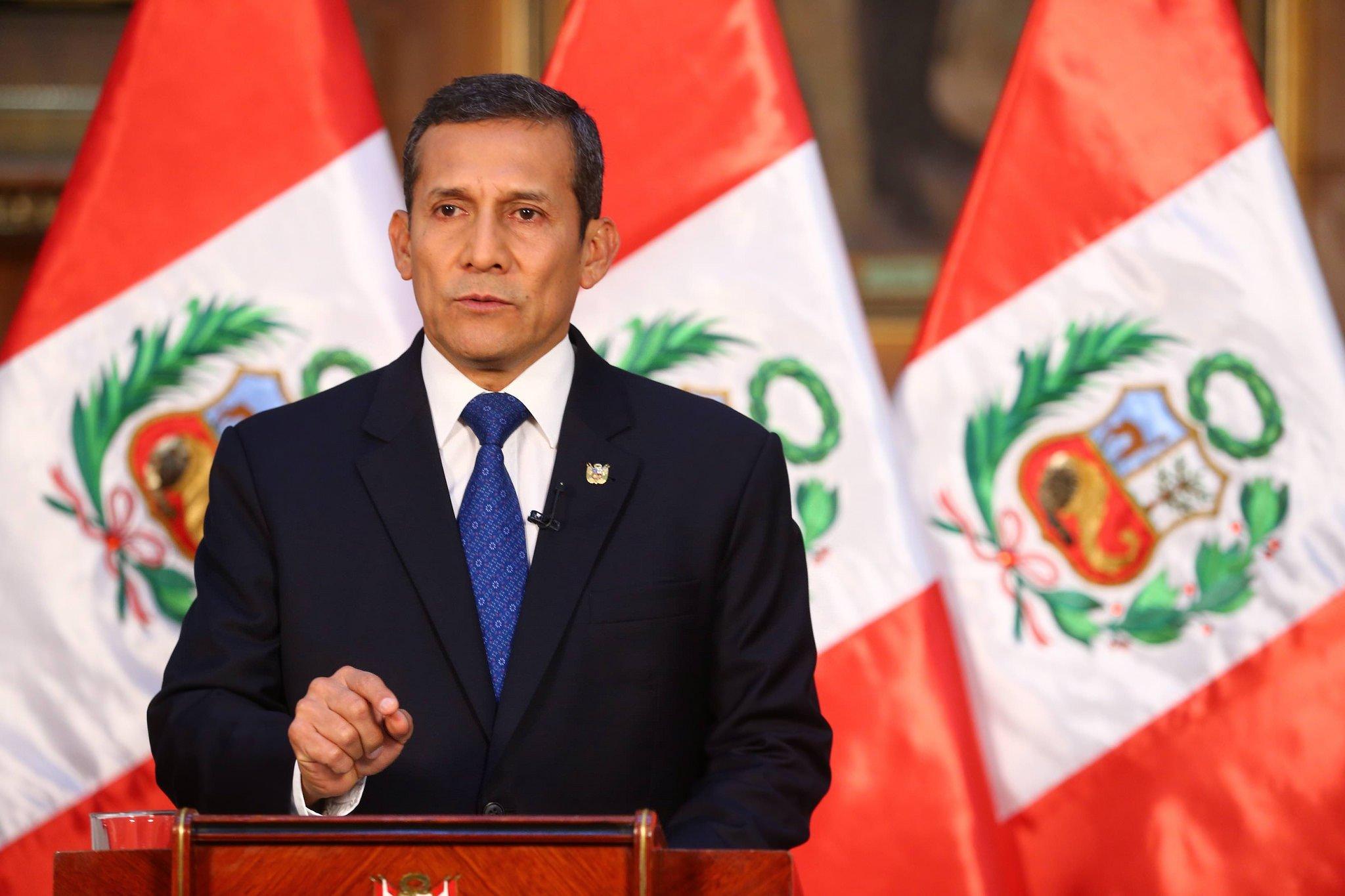 """Ollanta Humala sobre Tía María: """"No se puede suspender proyecto"""""""
