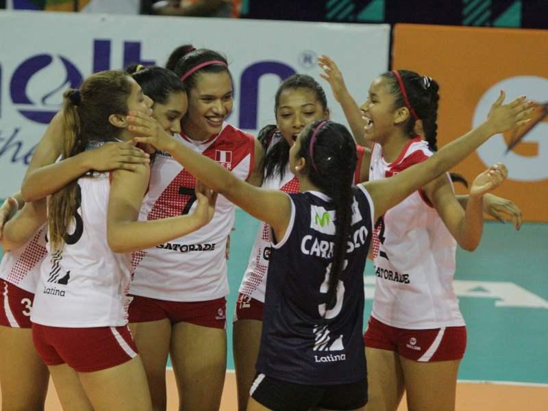 Vóley, Perú, Final Four, Walter Lung, Katherine Regalado, Nicole Abreu
