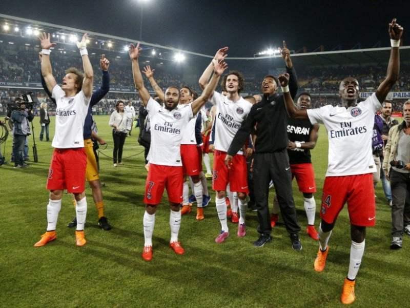 El PSG nuevamente se consagró campeón de la Liga francesa 2014-15.