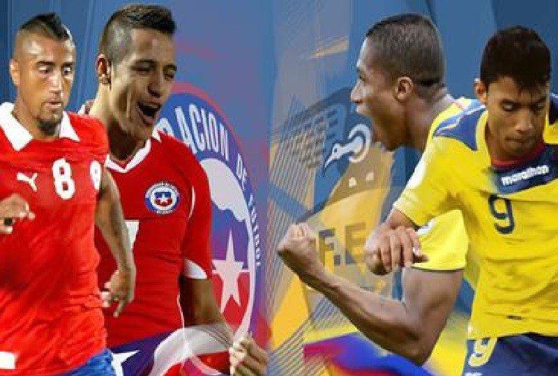 EN VIVO Copa América: Chile vs Ecuador empiezan la fiesta del fútbol