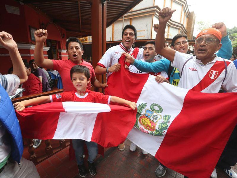 Unos 30 mil peruanos viajaron a Chile para la Copa América