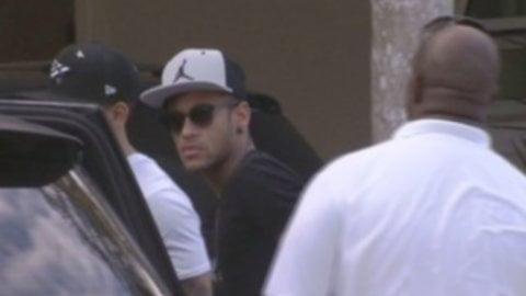 Neymar de vacaciones tras expulsión de la Copa América [VIDEO]