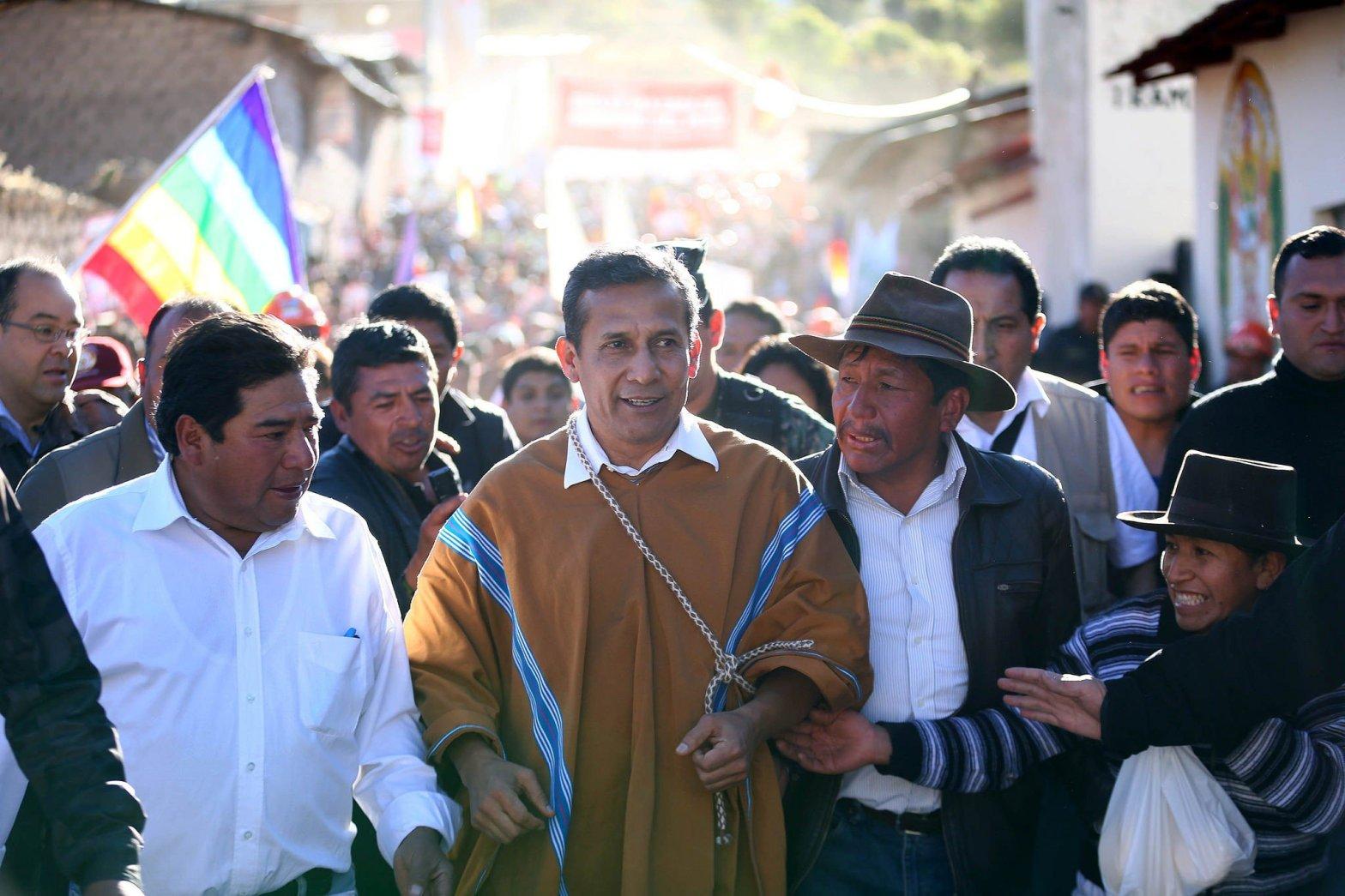 Ollanta Humala sobre caso Chavín de Huantar: