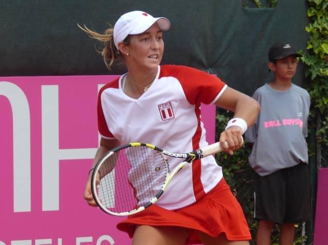 Bianca Botto logró el segundo triunfo peruano sobre Trinidad y Tobago en la Fed Cup.