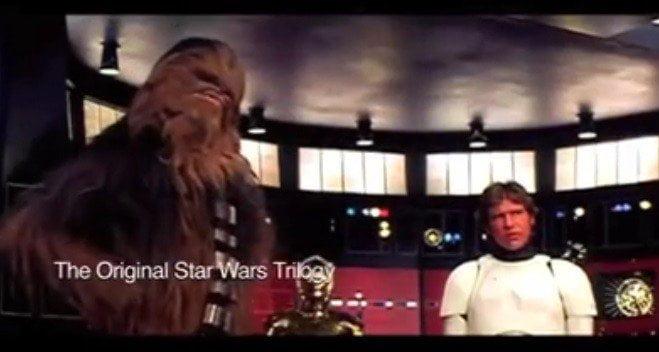 Star Wars: Detrás de cámaras original de la trilogía [VIDEO]