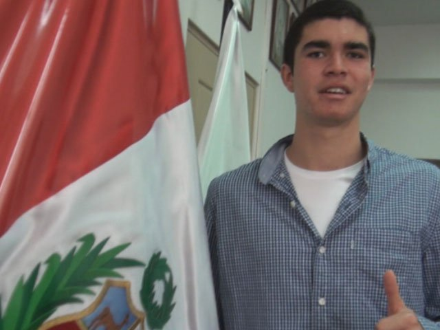 Diego Elías tendrá el honor de llevar la bandera peruana durante la inauguración de los Juegos Panamericanos 2015.