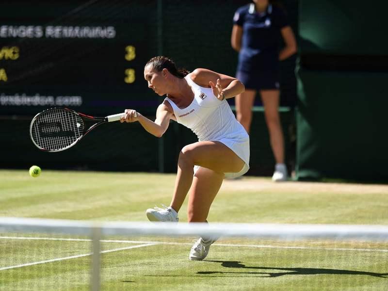 Jankovic se afianzó en la hierba de Londres y dejó en el camino a Kvitova.